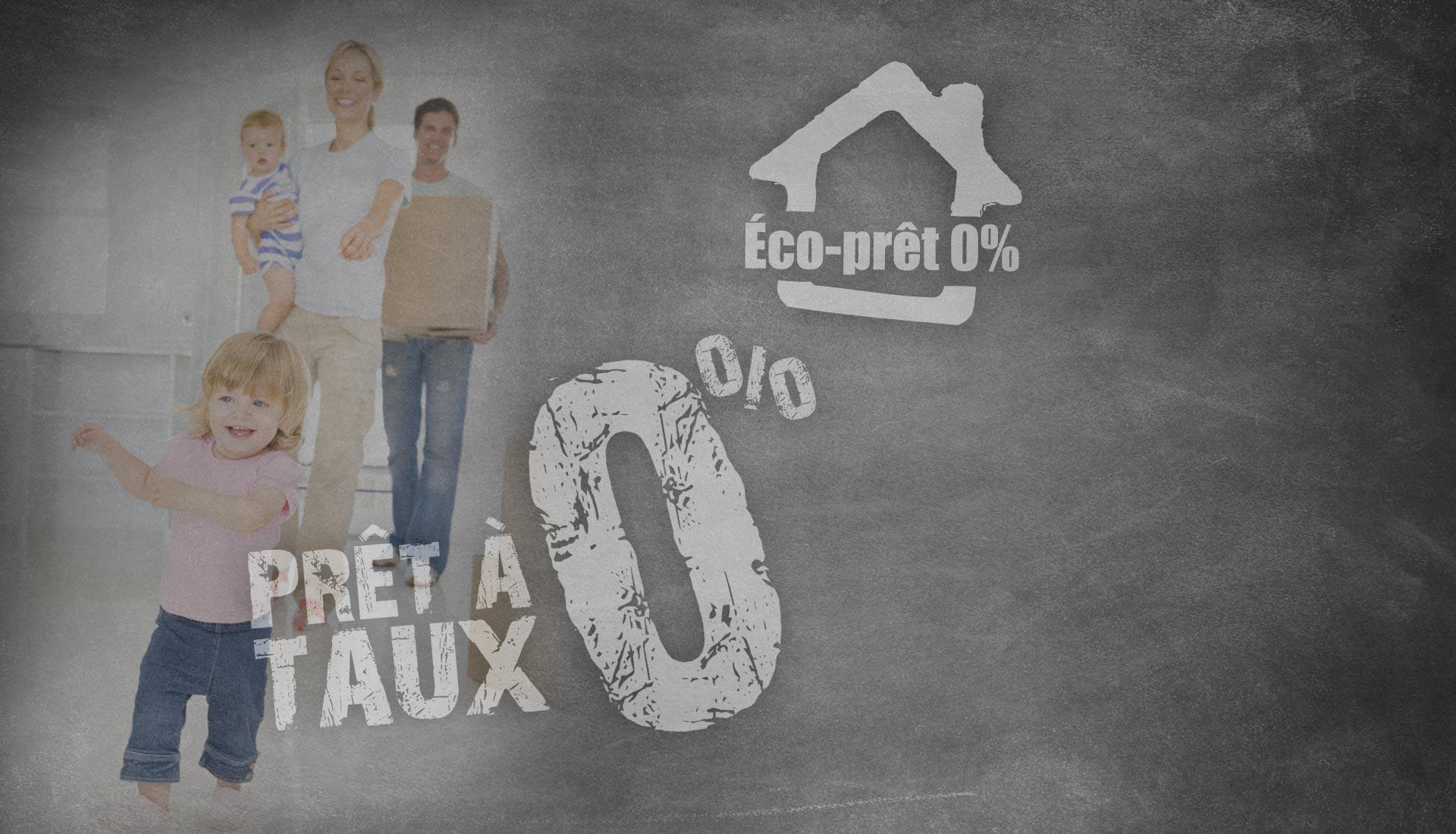 Prêt à taux 0% agence courtier en immobilier